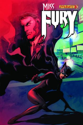 Miss Fury #6 (Tan Cover)