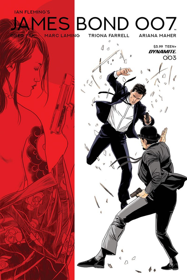 James Bond: 007 #3 (Laming Cover)