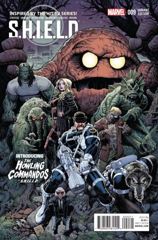 S.H.I.E.L.D. #9 (Howling Commandos Cover)