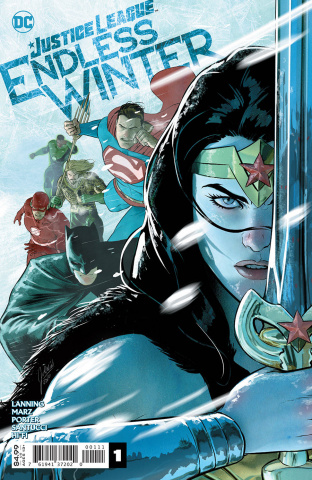 Justice League: Endless Winter #1 (Mikel Janin Cover)
