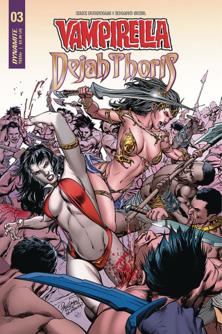 Vampirella / Dejah Thoris #3 (Pagulayan Cover)