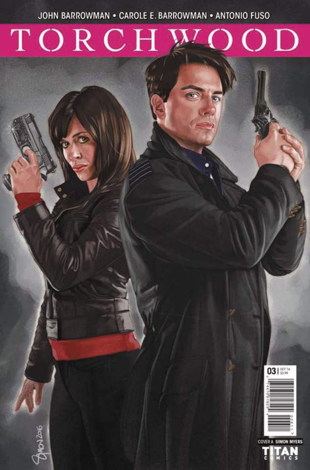 Torchwood #3 (Myers Cover)