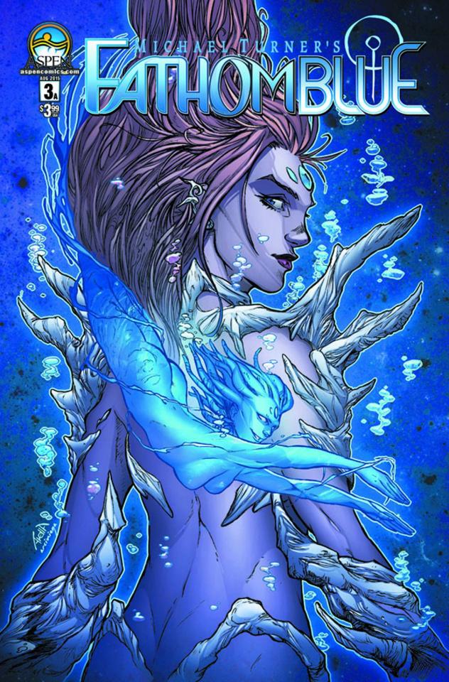 Fathom: Blue #3 (Direct Market Cover A)