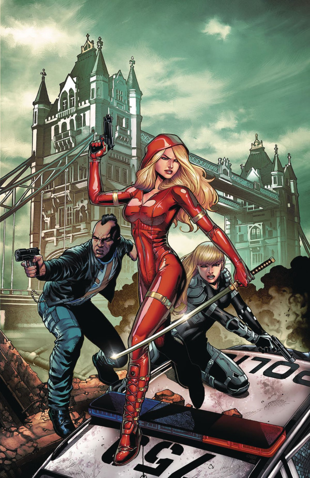 Grimm Fairy Tales: Red Agent - The Human Order #8 (Chen Cover)