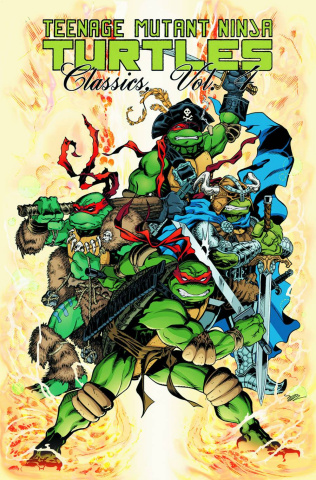 Teenage Mutant Ninja Turtles Classics Vol. 4