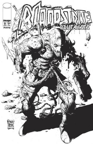 Bloodstrike #0 (Fraga B&W Cover)