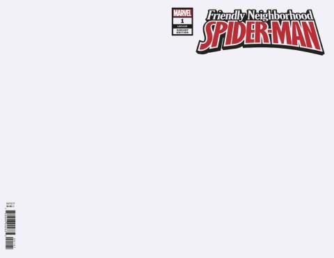 Friendly Neighborhood Spider-Man #1 (Blank Cover)