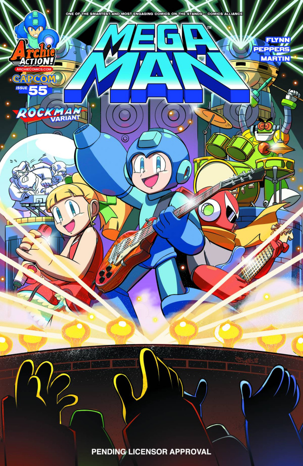 Mega Man #55 (Jampole Cover)