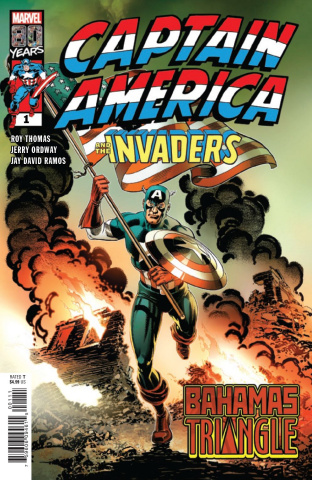 Captain America and The Invaders: Bahama's Triangle #1