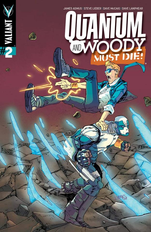 Quantum & Woody Must Die! #2 (Christmas Cover)