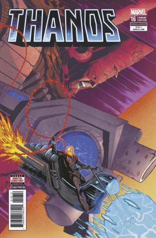 Thanos #16 (Shaw 2nd Printing)