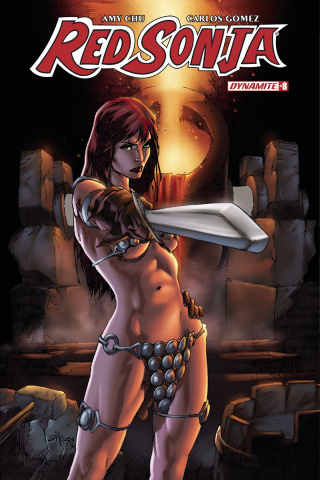 Red Sonja #8 (Rubi Subscription Cover)