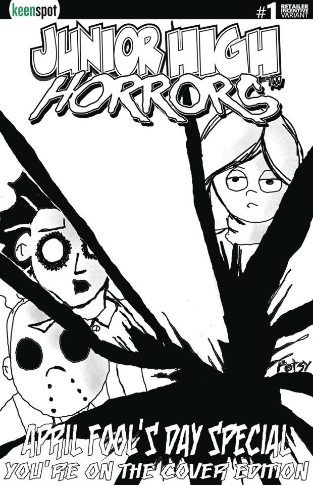 Junior High Horrors April Fool's Special #1 (5 Copy Cover)