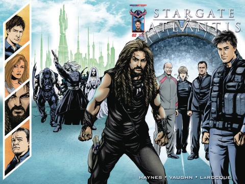 Stargate Atlantis: Back to Pegasus #2 (Wrap Cover)