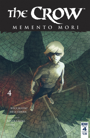 The Crow: Memento Mori #4 (Dell'Edera Cover)