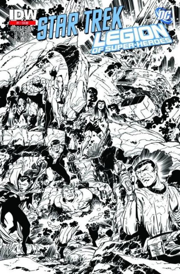 Star Trek / The Legion of Super Heroes #1 (2nd Printing)
