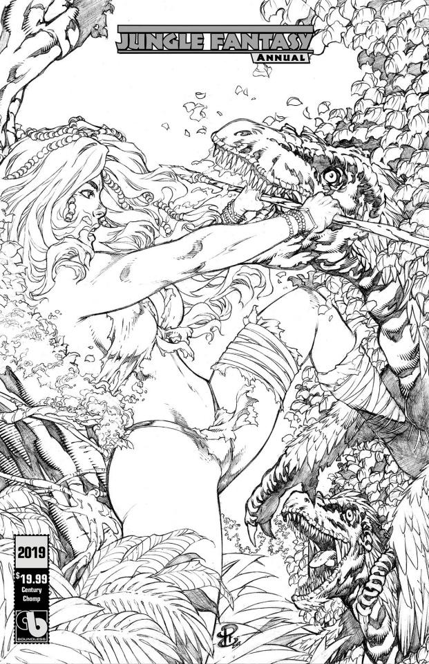 Jungle Fantasy Annual 2019 (Century Chomp Cover)