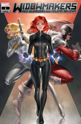 Widowmakers: Red Guardian and Yelena Belova #1 (Jeehyung Lee Cover)