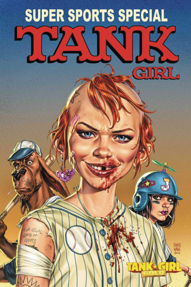 Tank Girl: Gold #2 (Wahl Cover)