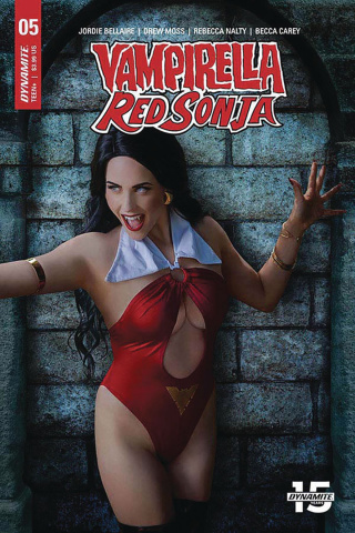 Vampirella / Red Sonja #5 (Cosplay Cover)