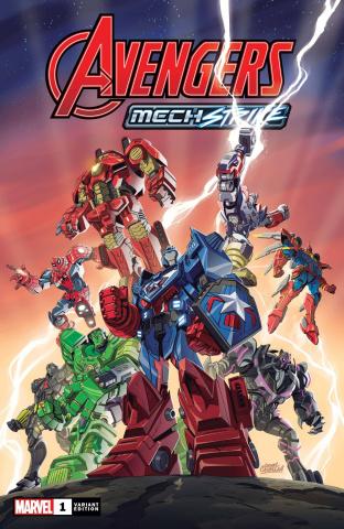 Avengers: Mech Strike #1 (Toy Cover)