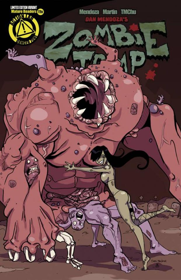 Zombie Tramp #11 (Mendoza Cover)