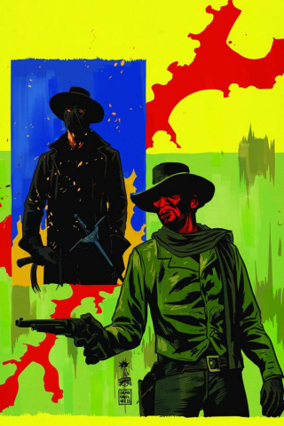 Django / Zorro #4 (10 Copy Francavilla Virgin Cover)