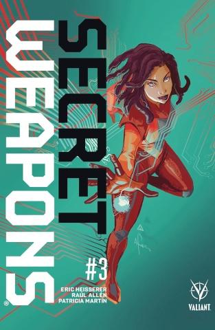 Secret Weapons #3 (Richardson Cover)