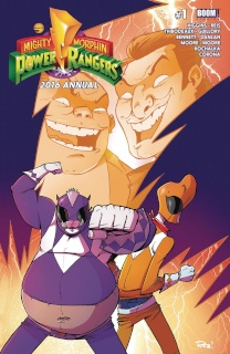 Mighty Morphin' Power Rangers 2016 Annual #1 (2nd Printing)