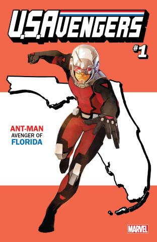 U.S.Avengers #1 (Reis Florida State Cover)