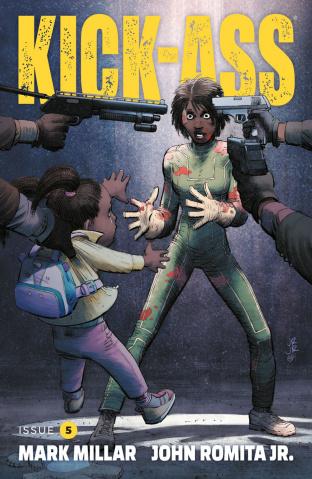 Kick-Ass #5 (Romita Jr. Cover)