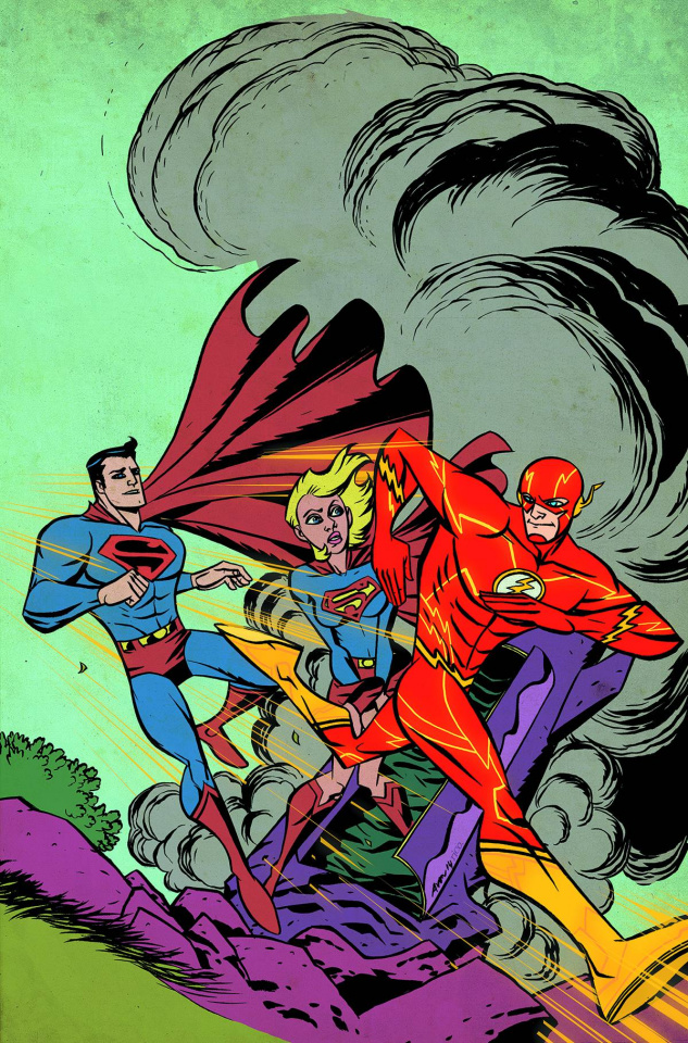 Supergirl #38 (Flash Cover)