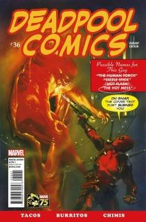 Deadpool #36 (Deadpool Cover)