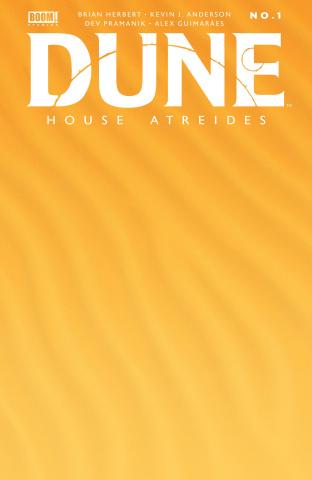 Dune: House Atreides #1 (Blank Sketch Cover)