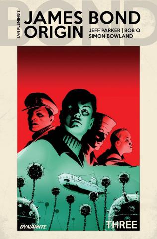 James Bond: Origin #3 (Cassaday Cover)