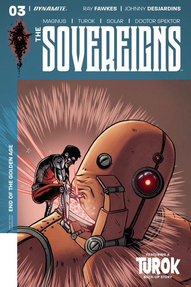 The Sovereigns #3 (McComsey Cover)