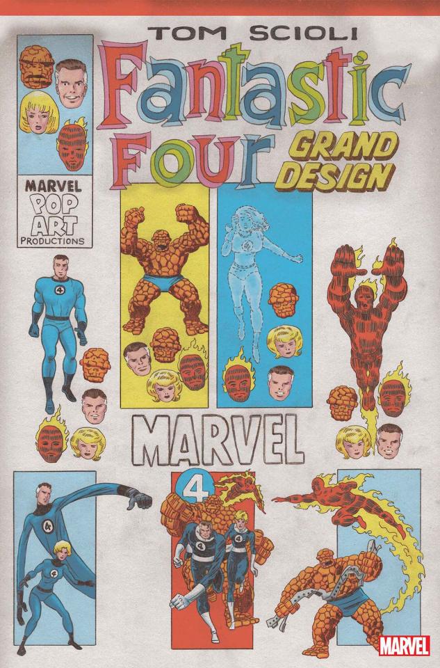 Fantastic Four: Grand Design #1 (Scioli Cover)