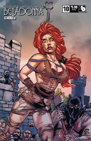 Belladonna: Fire and Fury #10 (Bondage Cover)