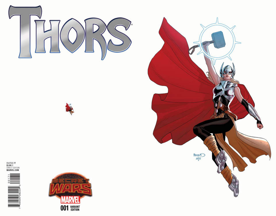 Thors #1 (Renaud Ant-Sized Cover)