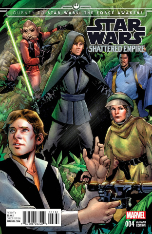Journey to Star Wars: The Force Awakens - Shattered Empire #4 (Pichelli Cover)
