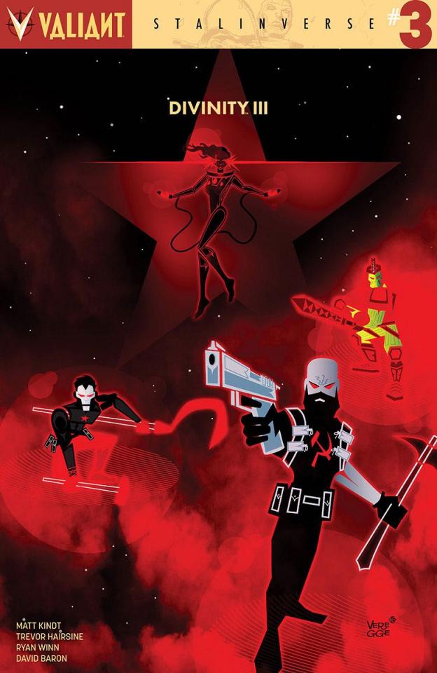 Divinity III: Stalinverse #3 (10 Copy Veregge Cover)