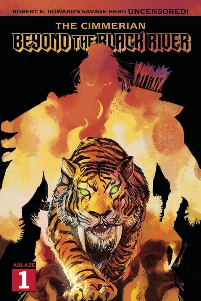 The Cimmerian: Beyond the Black River #1 (Tamura Cover)