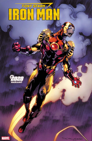 Tony Stark: Iron Man #19 (Stroman 2020 Cover)