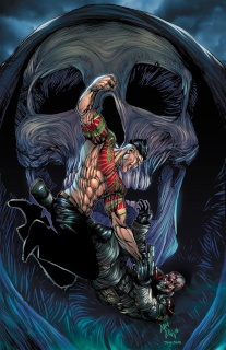 Death Force #5 (Hill Cover)
