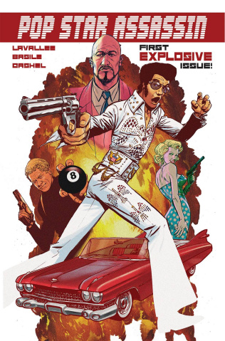 Pop Star Assassin #1 (Basile Cover)