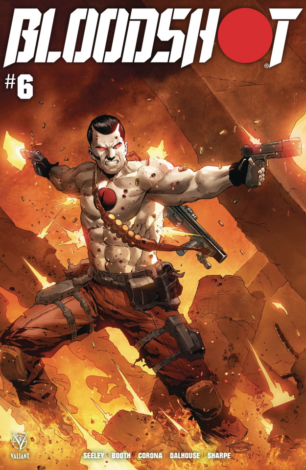 Bloodshot #6 (Casas Cover)
