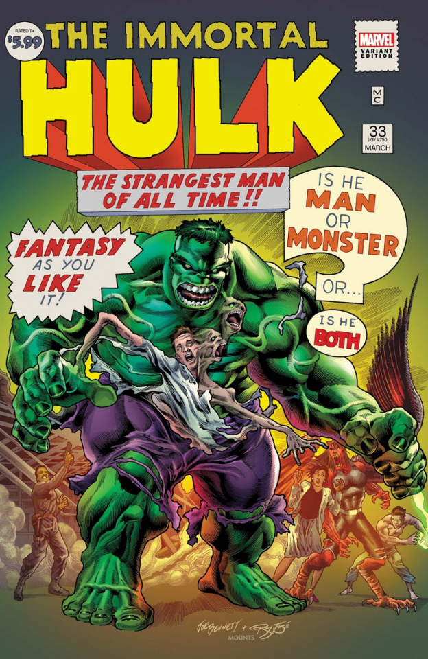 The Immortal Hulk #33 (Bennett Cover)