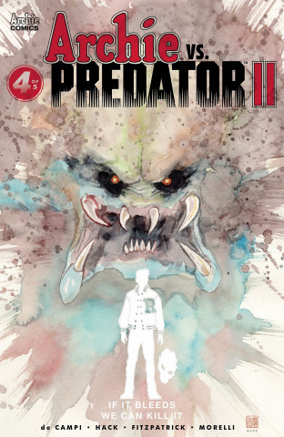 Archie vs. Predator II #4 (Mack Cover)