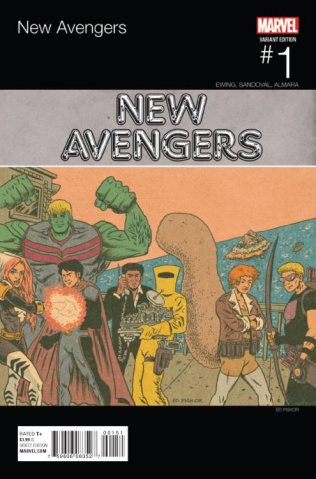 New Avengers #1 (Piskor Hip Hop Cover)