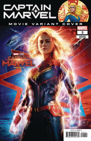 Captain Marvel #3 (Movie Cover)